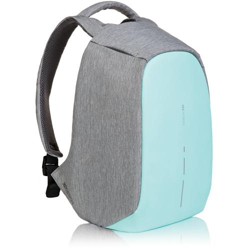 Рюкзак XD Design Bobby Compact для Macbook 13 бирюзовыйРюкзаки<br>Функциональный и стильный Bobby Compact обеспечит надёжную защиту вашим вещам.<br><br>Цвет: Бирюзовый<br>Материал: Текстиль, полипропилен, полиэстер