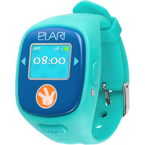 Детские часы-телефон Fixitime 2 Elari c GPS/LBS/WiFi-трекером голубые (Фикситайм)Умные часы<br>С Fixitime 2 Ваш ребёнок всегда на связи!<br><br>Цвет товара: Голубой<br>Материал: Пластик, резина