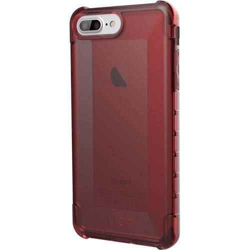 Чехол UAG PLYO Series Case для iPhone 8 Plus/7 Plus/6 Plus красныйЧехлы для iPhone 6/6s Plus<br><br><br>Цвет товара: Красный<br>Материал: Поликарбонат, термопластичный полиуретан