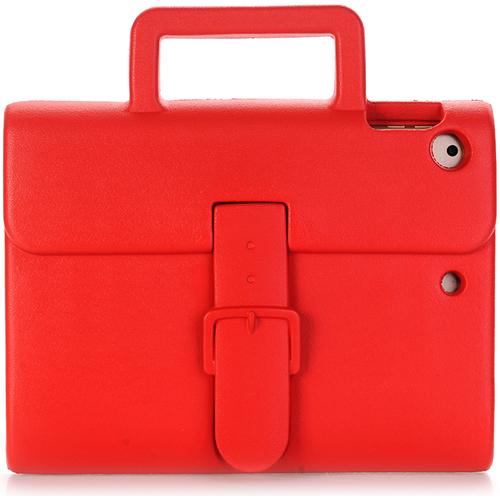 Чехол DoDo Briefcase Kids Shockproof для iPad Air / iPad Air 2 / iPad (2017) красныйЧехлы для iPad Air<br><br><br>Цвет товара: Красный<br>Материал: Силикон