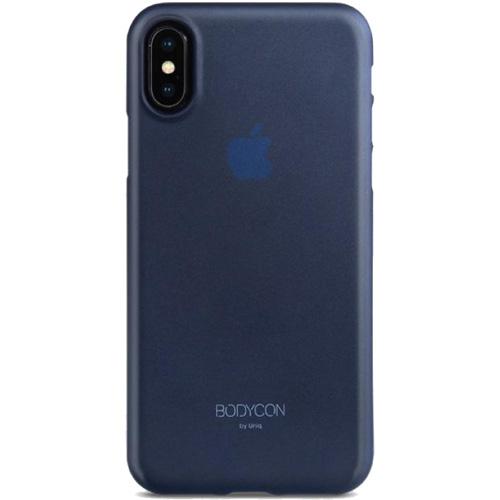 Чехол Uniq Bodycon для iPhone X синийЧехлы для iPhone X<br>Тонкий словно лепесток цветка и невероятный легкий чехол Uniq Bodycon повторяет плавные контуры вашего iPhone Х, и обеспечивает непревзойденную за...<br><br>Цвет товара: Синий<br>Материал: Поликарбонат, полиуретан