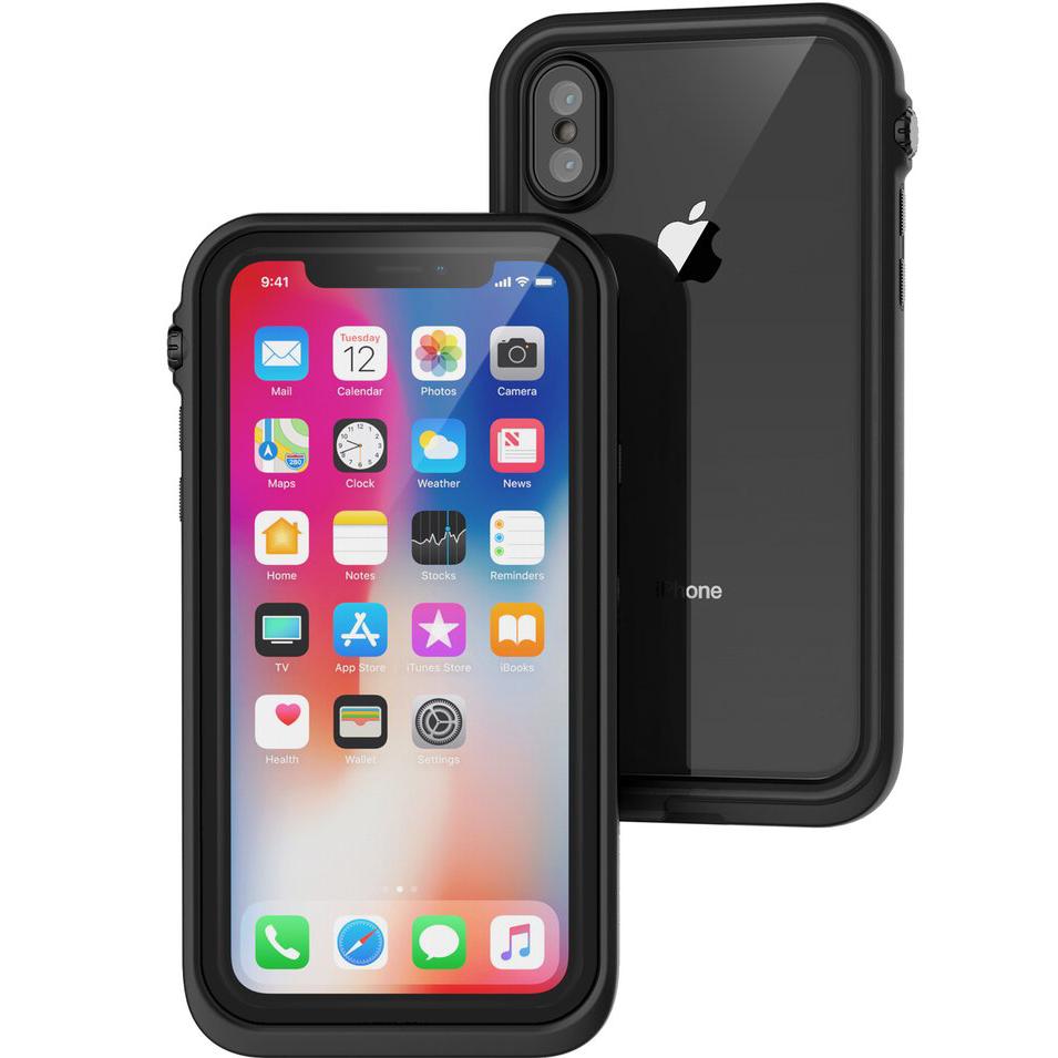 Чехол Catalyst Waterproof Case для iPhone X чёрныйЧехлы для iPhone X<br>Catalyst Case обеспечит вашему iPhone X самую лучшую в мире защиту!<br><br>Цвет товара: Чёрный<br>Материал: Поликарбонат, полиуретан