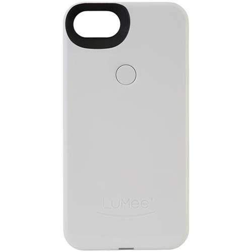 Чехол LuMee Two с подсветкой для iPhone 7 белыйЧехлы для iPhone 7<br>Чехол LuMee TWO для iPhone 7 с подсветкой белый глянцевый<br><br>Цвет товара: Белый