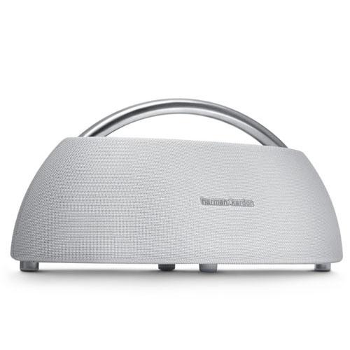 Портативная Bluetooth-акустика Harman Kardon Go + Play Wireless Mini белаяКолонки и акустика<br>Акустика Harman GO+ PLAY Wireless MINI белая<br><br>Цвет товара: Белый<br>Материал: Пластик, металл
