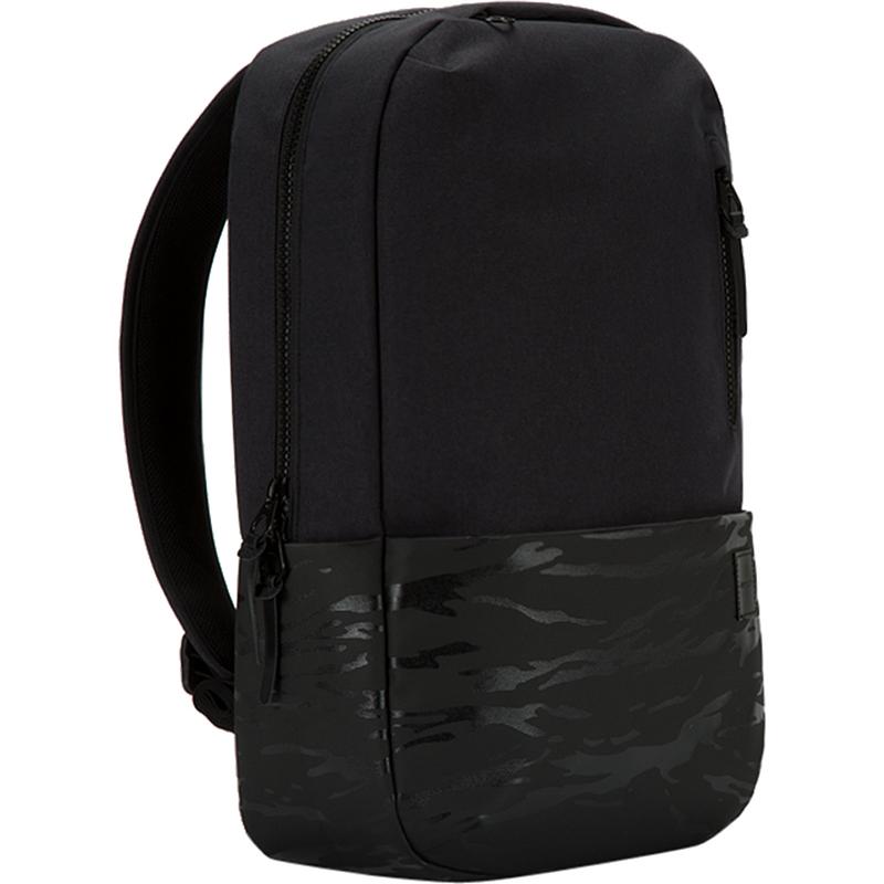 Рюкзак Incase Compass Backpack для MacBook 15 чёрный камуфляжРюкзаки<br>Рюкзак Incase Compass Backpack — это икона стиля и практичности.<br><br>Цвет товара: Чёрный<br>Материал: Полиэстер, полиуретан