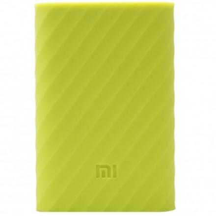 Силиконовый чехол Xiaomi Silicone Protector Sleeve для аккумулятора Mi Power Bank 10000 зелёныйВнешние аккумуляторы<br>Чехол силик для Xiaomi PowerBank 10000 mAh зеленый<br><br>Цвет товара: Зелёный<br>Материал: Силикон