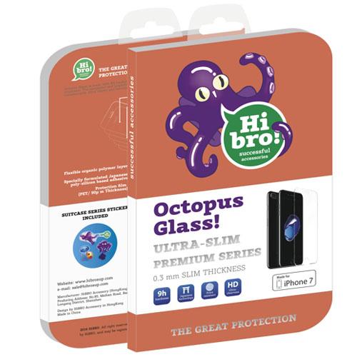 Защитное стекло HiBro! Octopus Glass для iPhone 8/7/6/6sСтекла/Пленки на смартфоны<br>HiBro! Octopus Glass убережёт экран смартфона от неприятностей!<br><br>Цвет: Прозрачный<br>Материал: Стекло<br>Модификация: iPhone 4.7