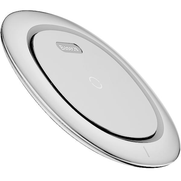 Беспроводное зарядное устройство Baseus UFO Desktop Wireless Charger белоеСетевые зарядки<br>Надёжная и быстрая зарядка для ваших гаджетов!<br><br>Цвет товара: Белый<br>Материал: Пластик