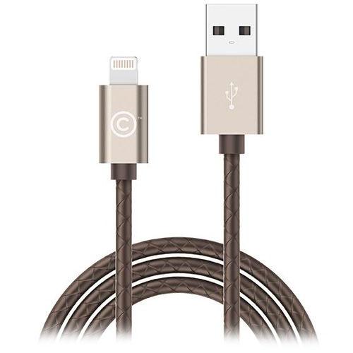 Кабель LAB.C Sync &amp; Charge USB-Lightning 1.8 м золотистый/коричневыйПровода и кабели<br>Кабель LAB.C USB на Lighting 1.8m. leather золотой/коричневый<br><br>Материал: Пластик
