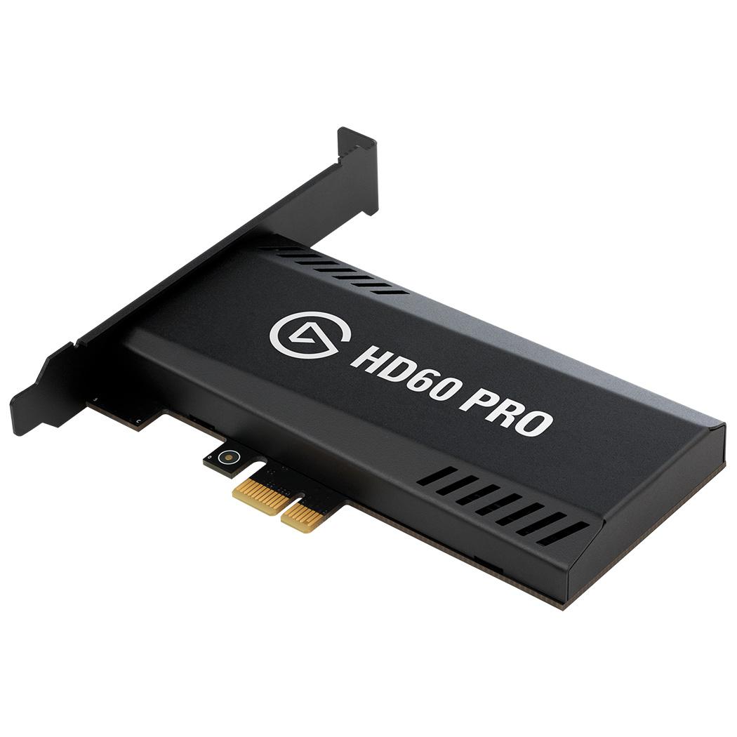 Карта видеозахвата Elgato Game Capture HD60 ProКомплектующие для ПК<br>Записывайте игровой процесс с приставок и транслируйте видео без задержек!<br><br>Цвет товара: Чёрный<br>Материал: Пластик, металл