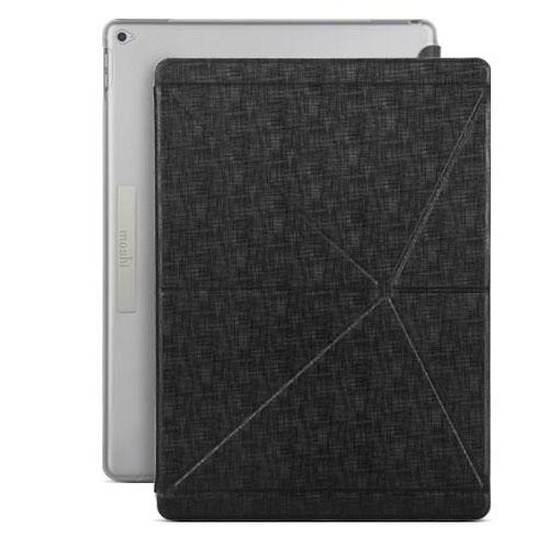 Чехол Moshi VersaCover для iPad Pro 12.9 (1Gen/2Gen)Чехлы для iPad Pro 12.9<br>Чехол Moshi VersaCover для iPad Pro 12.9 - чёрный<br><br>Цвет товара: Чёрный<br>Материал: Пластик, полиуретановая кожа