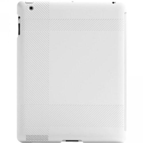 Чехол Bluelounge Shell Tartan для iPad 4/iPad 3/iPad 2 белыйЧехлы для iPad 1/2/3/4 (2010-2013)<br>Bluelounge Shell Tartan создан для тех, кто изо дня в день использует свой iPad и хочет обеспечить ему максимальную защиту.<br><br>Цвет товара: Чёрный<br>Материал: Пластик