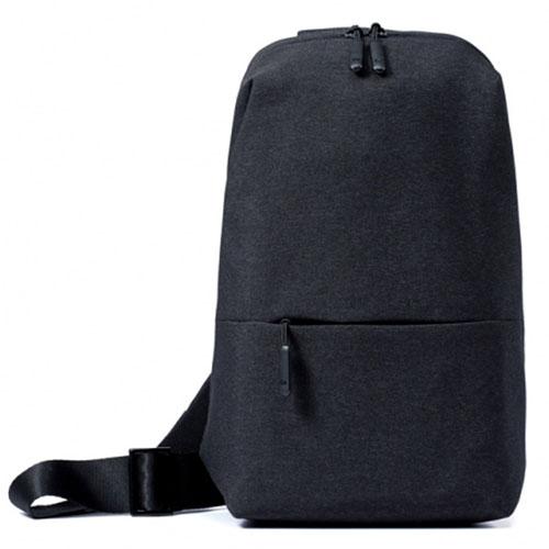 Рюкзак Xiaomi Multifunctional Chest Bag чёрныйСумки и аксессуары для путешествий<br>Xiaomi Multifunctional Chest Bag - стильный и удобный рюкзак для прогулок и путешествий.<br><br>Цвет товара: Чёрный<br>Материал: Текстиль
