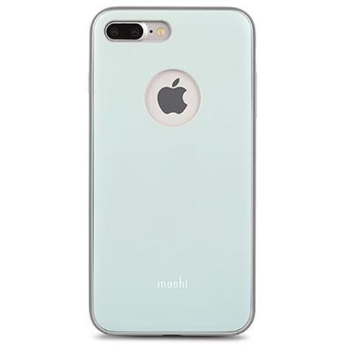 Чехол Moshi iGlaze для iPhone 7 Plus (Айфон 7 Плюс) голубойЧехлы для iPhone 7 Plus<br>Чехол Moshi iGlaze для iPhone 7 Plus пластик синий<br><br>Цвет товара: Голубой<br>Материал: Пластик