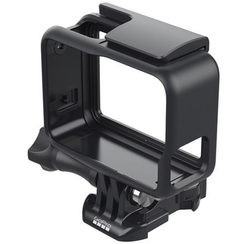 Крепление-рамка GoPro The Frame (AAFRM-001) для экшен-камеры HERO5 BlackАксессуары для видеокамер<br>The Frame – самое компактное и легкое крепление для камеры GoPro HERO5 Black.<br><br>Цвет товара: Чёрный
