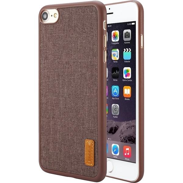 Чехол Baseus Grain Case Sunie Series Ultra Slim для iPhone 7 коричневыйЧехлы для iPhone 7<br>Тонкий чехол Baseus Grain Case Sunie Series Ultra Slim выглядит элегантно и в тоже время молодёжно, что не может не привлечь внимания.<br><br>Цвет товара: Коричневый<br>Материал: Термопластичный полиуретан, текстиль
