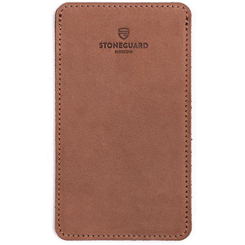 Кожаный чехол Stoneguard для iPhone 6/6s/7 Rust (511)