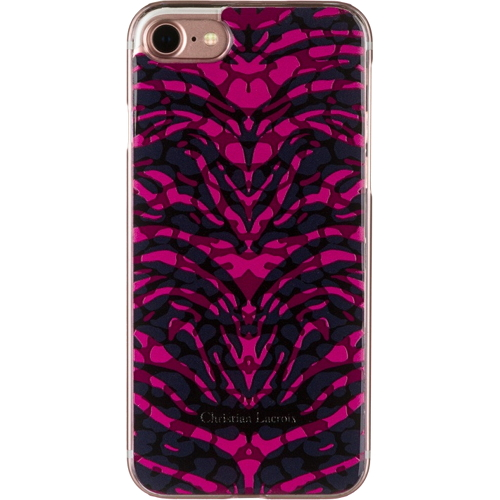 Чехол Christian Lacroix Pantigre Hard для iPhone 7 (Айфон 7) Grenade розовыйЧехлы для iPhone 7<br>Чехол Christian Lacroix Pantigre Hard для iPhone 7 (Айфон 7) Grenade розовый<br><br>Цвет товара: Розовый<br>Материал: Поликарбонат, полиуретан