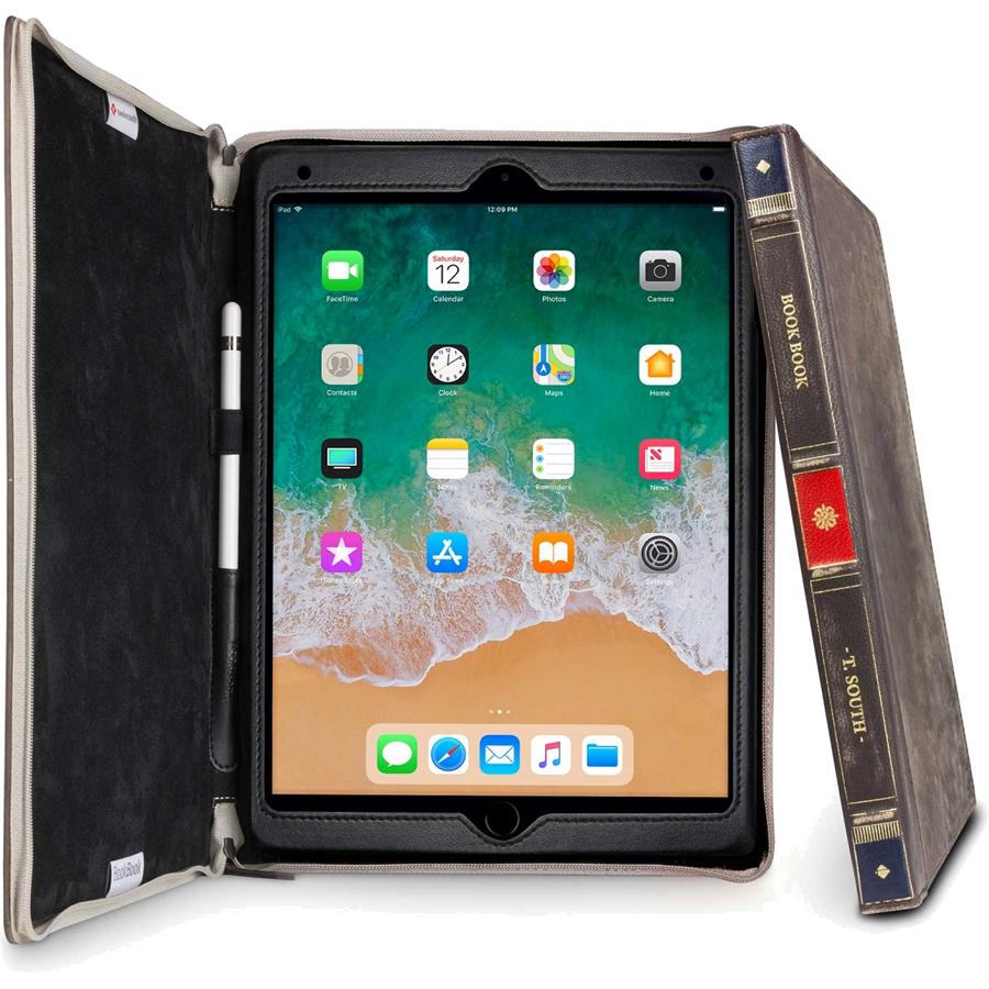 Чехол Twelve South BookBook для iPad Pro 10.5 коричневыйЧехлы для iPad Pro 10.5<br>TwelveSouth BookBook готов поразить вас в самое сердце.<br><br>Цвет: Коричневый<br>Материал: Натуральная кожа, текстиль