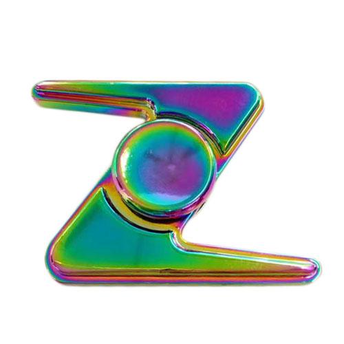 Спиннер Fidget Glory Rainbow Series Молния SP4572Игрушки-антистресс<br>Благодаря покрытию «хамелеон» спиннер Fidget Glory захватывает внимание с первой секунды!<br><br>Цвет товара: Разноцветный<br>Материал: Металл