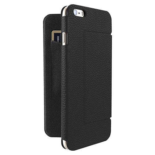 Чехол Just Mobile Quattro Folio для iPhone 6/6s чёрныйЧехлы для iPhone 6/6s<br>Just Mobile Quattro Folio невероятно комфортен в использовании!<br><br>Цвет товара: Чёрный