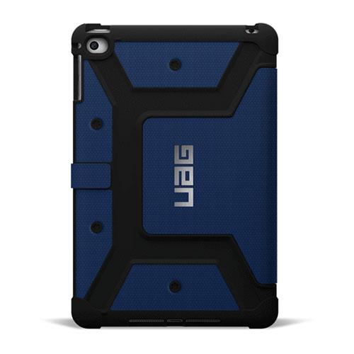 Чехол UAG Folio Case для iPad Mini 4 синий CobaltЧехлы для iPad mini 4<br>UAG Folio Case подойдет для людей, которые хотят максимально защитить свой гаджет со всех сторон.<br><br>Цвет товара: Синий<br>Материал: Пластик, силикон