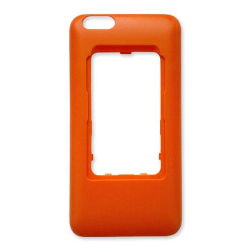 Чехол Elari CardPhone для iPhone 6 Plus/6S PlusЧехлы для iPhone 6s PLUS<br>Чехол Elari для телефона Elari CardPhone и iPhone 6 Plus/6s Plus - оранжевый<br><br>Цвет товара: Оранжевый<br>Материал: Пластик