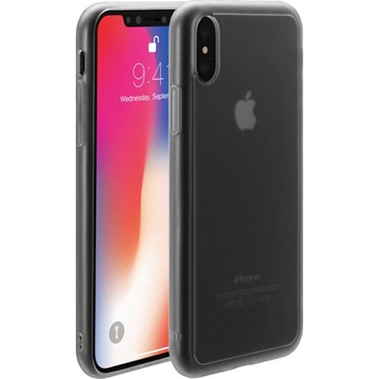 Чехол Just Mobile TENC для iPhone X прозрачный матовыйЧехлы для iPhone X<br>Чехол Just Mobile TENC обладает способностью к «регенерации» — самовосстановлению поверхности.<br><br>Цвет товара: Прозрачный<br>Материал: Поликарбонат, термопластичный полиуретан