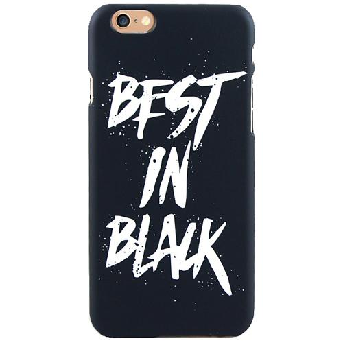 Чехол iPapai для iPhone 7 «Mens Choice» (Best in Black)Чехлы для iPhone 7/7 Plus<br>Креативный силиконовый чехол iPapai с уникальным дизайнерским принтом для iPhone 7.<br><br>Цвет товара: Чёрный<br>Материал: Пластик