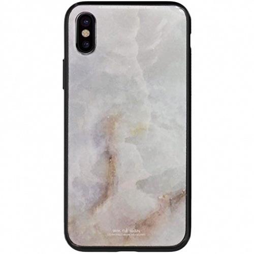 Чехол WK Design Azure Stone Series для iPhone X (стиль 5)Чехлы для iPhone X<br>Чехлы WK Design Azure Stone Series — это яркие и оригинальные принты, которые вдохновят вас и окружающих!<br><br>Цвет товара: Белый<br>Материал: Пластик