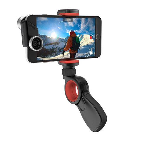 Универсальный штатив-держатель Olloclip Pivot для смартфонов и экшен-камерАксессуары для видеокамер<br>Olloclip Pivot позволяет снимать потрясающее видео под любым углом!<br><br>Цвет товара: Чёрный