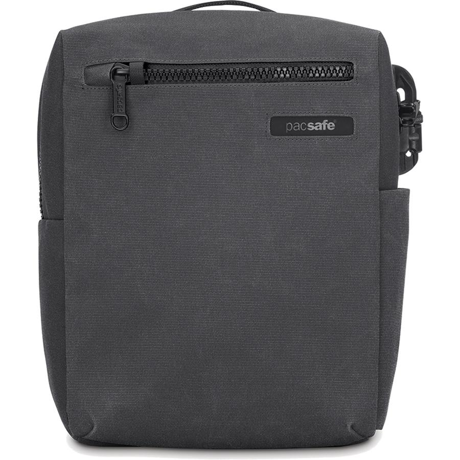 Сумка PacSafe Intasafe Crossbody anti-theft для планшетов 10 сераяСумки для iPad<br>Объём городской сумки PacSafe Intasafe Crossbody составляет 7 литров, что позволит вам взять все необходимые вещи, которые мы носим с собой каждый день.<br><br>Цвет товара: Серый<br>Материал: Полиэстер 600D, полиуретан, нержавеющая сталь
