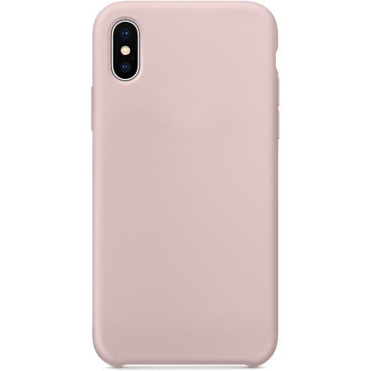 Силиконовый чехол YablukCase для iPhone X розовый песокЧехлы для iPhone X<br>Лёгкий и практичный YablukCase — идеальная пара для вашего iPhone X!<br><br>Цвет товара: Розовый<br>Материал: Силикон
