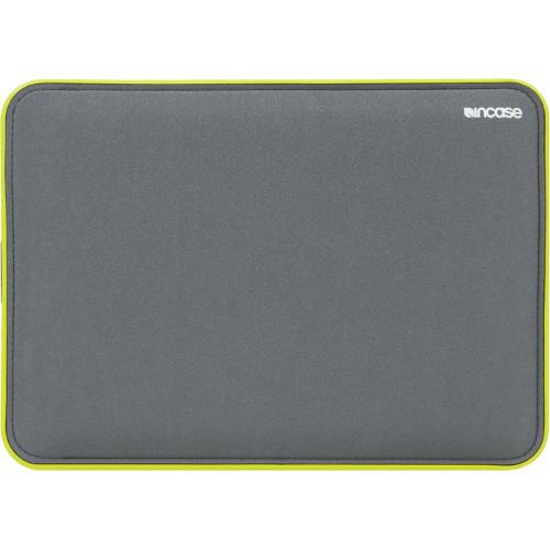 Чехол Incase Icon Sleeve Tensaerlite для MacBook Air 11 серый / салатовыйЧехлы для MacBook Air 11<br>Чехол Incase Icon Sleeve Tensaerlite для MacBook Air 11 серый / салатовый<br><br>Цвет товара: Серый<br>Материал: Текстиль