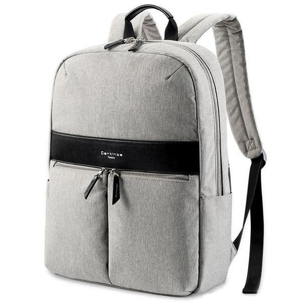 Рюкзак Cartinoe London Style Series для MacBook 13 серыйРюкзаки<br>Cartinoe London Style Series - удобный и вместительный рюкзак.<br><br>Цвет товара: Серый<br>Материал: Нейлон, водоотталкивающая ткань