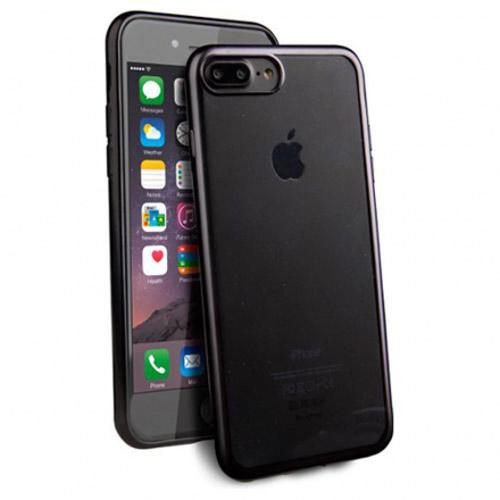 Чехол Uniq Glacier Frost для iPhone 7 Plus (Айфон 7 Плюс) чёрныйЧехлы для iPhone 7/7 Plus<br>«Застеклите» свой новенький iPhone 7 Plus с помощью тонкого, прочного и прозрачного чехла Uniq Glacier Frost.<br><br>Цвет товара: Чёрный<br>Материал: Полиуретан, поликарбонат