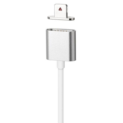 Магнитный кабель Moizen Magnetic Charging Cable (1.2 м) серебристый (SNAP-C1A-1-SL)Кабели Lightning<br>Moizen Magnetic Charging Cable -  магнитный кабель,  обладающий рядом неоспоримых преимуществ!<br><br>Цвет товара: Серебристый<br>Материал: Пластик, металл