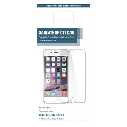 Защитное стекло Red Line для iPhone 6/6S 0.2 ммСтекла/Пленки на смартфоны<br>Защитное стекло RED LINE для iPhone 6/6S/7 4.7 0.2mm<br><br>Цвет товара: Прозрачный<br>Материал: Стекло