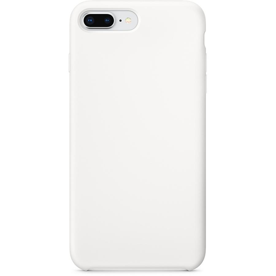 Силиконовый чехол YablukCase для iPhone 7 Plus / 8 Plus белыйЧехлы для iPhone 7 Plus<br>YablukCase – стильный аксессуар, который обеспечит отличную защиту вашему iPhone!<br><br>Цвет: Белый<br>Материал: Силикон