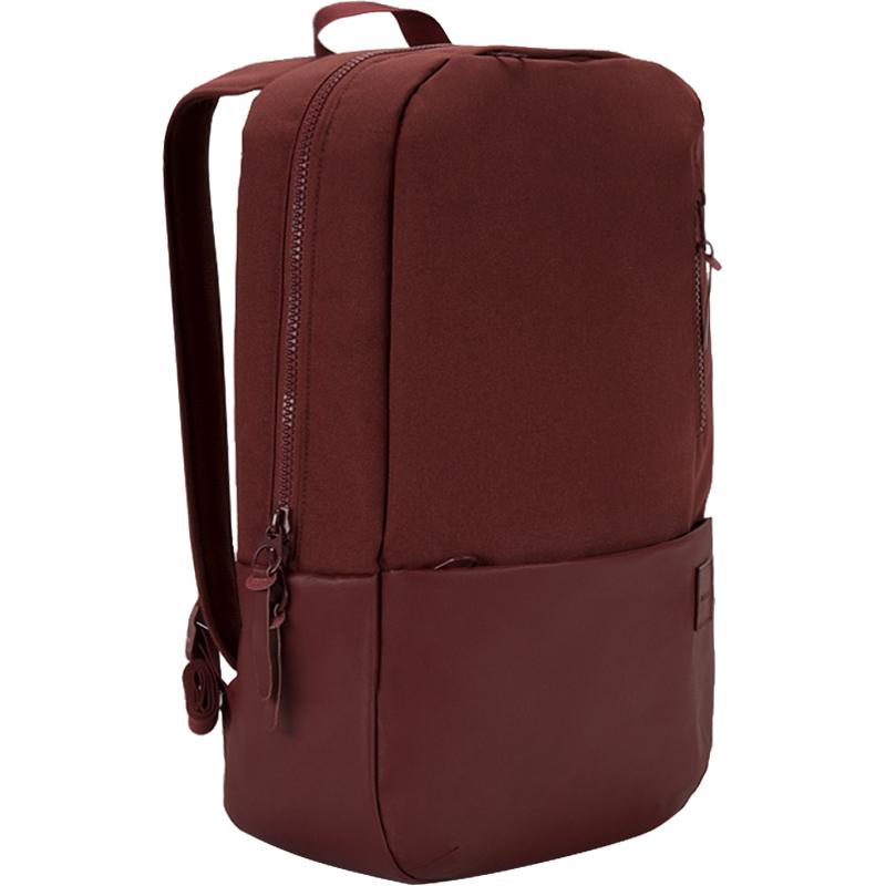 Рюкзак Incase Compass Backpack для MacBook 15 тёмно-красныйРюкзаки<br>Рюкзак Incase Compass Backpack — это икона стиля и практичности.<br><br>Цвет товара: Красный<br>Материал: Полиэстер, полиуретан