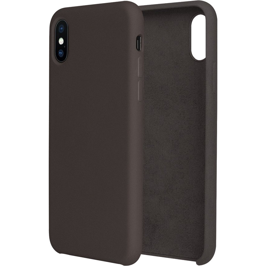 Силиконовый чехол G-CASE Original Flexible Silicone Gel Case для iPhone X КакаоЧехлы для iPhone X<br>Чехол из гелеобразного силикона с мягкой подкладой из микрофибры. Он гибкий и лёгкий, идеально облегающий корпус мощного смартфона iPhone X.<br><br>Цвет товара: Коричневый<br>Материал: Гелеобразный гиппоаллергенный силикон, микрофибра
