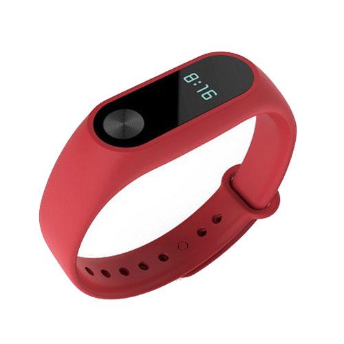 Браслет Xiaomi Mi Band 2 красныйБраслеты, кардиодатчики<br>В Xiaomi Mi Band 2 используются самые современные и надежные технологии!<br><br>Цвет товара: Красный<br>Материал: Пластик, силикон
