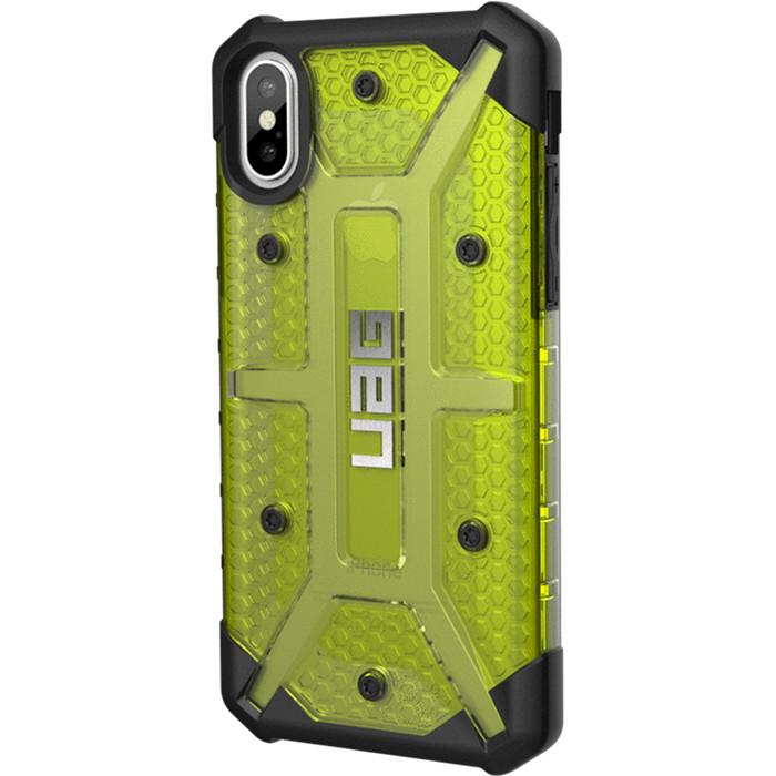 Чехол UAG Plasma Series Case для iPhone X зелёный CitronЧехлы для iPhone X<br>UAG Plasma Series Case обеспечивает максимальную защиту от ударов и падений!<br><br>Цвет товара: Зелёный<br>Материал: Поликарбонат, термопластичный полиуретан