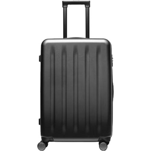 Чемодан Xiaomi Mi Trolley 90 Points 24 дюймаСумки и аксессуары для путешествий<br>Xiaomi Mi Trolley 90 Points —это противоударный и удобный чемодан для путешествий, имеющий бесшумные и маневренные колеса, а также кодовый замок.<br><br>Цвет товара: Чёрный<br>Материал: Поликарбонат (Makrolon), алюминий, текстиль