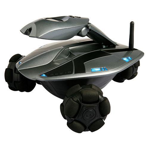 Видеоробот WowWee Rovio чёрныйИгрушки управляемые смартфоном<br>Робот Rovio - возможно самый интересный проект компании WowWee.<br><br>Цвет товара: Чёрный
