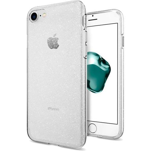 Чехол Spigen Liquid Crystal Glitter для iPhone 8/7 кристальный кварц ( 042CS21760)Чехлы для iPhone 7<br>Spigen Liquid Crystal Glitter — это первый чехол с блеском, который отлично смотрится на iPhone 8 и iPhone 7!<br><br>Цвет товара: Прозрачный<br>Материал: Термопластичный полиуретан