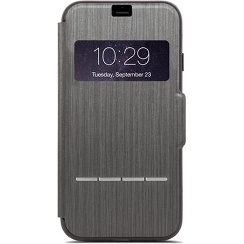 Чехол Moshi SenseCover для iPhone 7 Plus черныйЧехлы для iPhone 7 Plus<br>Moshi SenseCover — безупречное слияние защиты и свежих инженерных идей. Чехол-книжка с сенсорным покрытием позволяет использовать многие функции...<br><br>Цвет товара: Чёрный<br>Материал: Поликарбонат, полиуретановая кожа