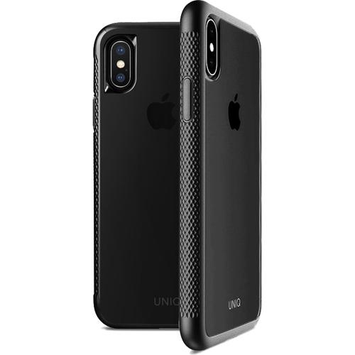Чехол Uniq Glacier Frost Xtreme для iPhone X чёрныйЧехлы для iPhone X<br>Uniq для iPhone X Glacier Frost Xtreme Blac<br><br>Цвет товара: Чёрный<br>Материал: Поликарбонат, термопластичный полиуретан