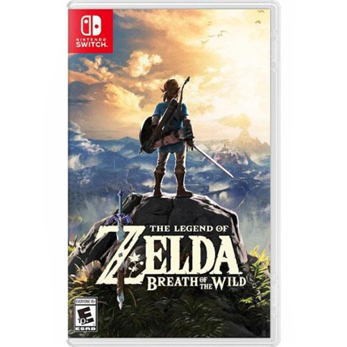 Игра для Nintendo Switch The Legend of Zelda: Breath of the Wild от iCases