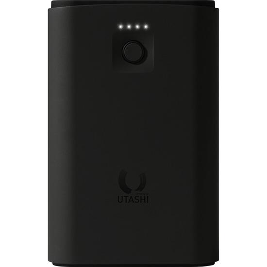 Внешний аккумулятор SmartBuy UTASHI X 7500 (SBPB-600) чёрныйДополнительные и внешние аккумуляторы<br>Благодаря UTASHI X вы сможете зарядить свои гаджеты где угодно и когда угодно!<br><br>Цвет: Чёрный<br>Материал: Пластик с покрытием soft-touch
